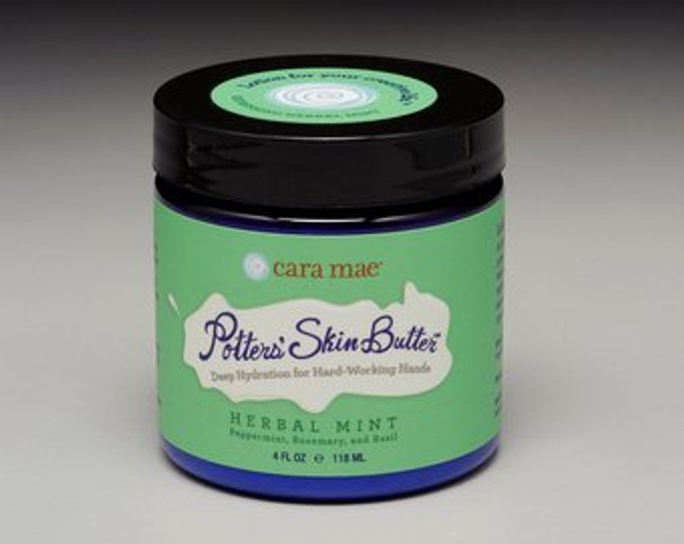 Potter's Skin Butter Herbal Mint 4oz