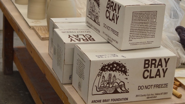 Bray Clay is made on site in Helena, Montana.