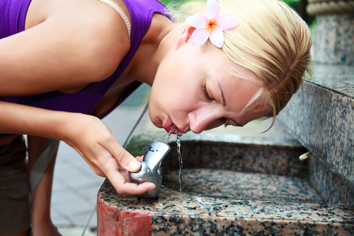 Frost-Resistant Drinking Fountains for cold weather to stop freezing water lines