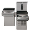 Haws 1212SF Filtered ADA HI-LO Water Cooler with Bottle Filler