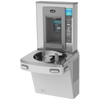 Oasis PG8EBQ Versacooler II Energy Efficient Water Cooler, Refrigerated Drinking Fountain and Bottle Filler, QUASAR UVC-LED VersaFiller with Hands Free Activation, Non-Filtered