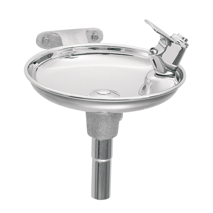 Haws 1152, Single Bubbler, Wall Mounted, Drinking Fountain with Round Stainless Steel Bowl, (Non-Refrigerated)