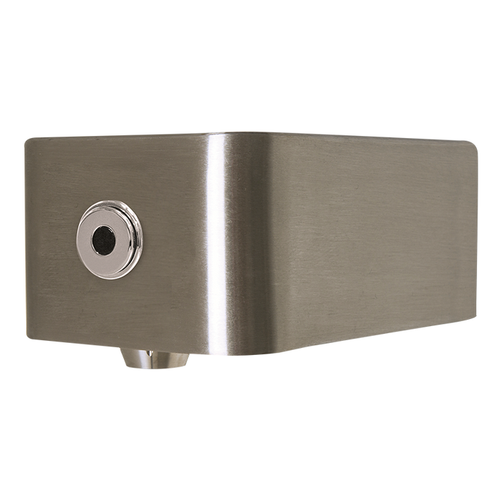 Haws 1920HO Touchless Bottle Filler, Sensor Activated, Wall Mounted, Stainless Steel with Satin Finish, Non-Refrigerated