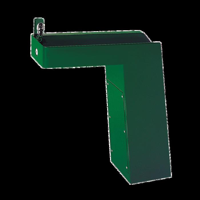 Haws 3202, Barrier-Free, Trough Style Galvanized Steel Pedestal Drinking Fountain, (Non-Refrigerated)