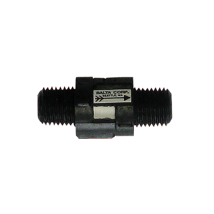 """Haws 5815, Plastic Check Valve with 1/4"""" IPS Threads for Drinking Fountains"""