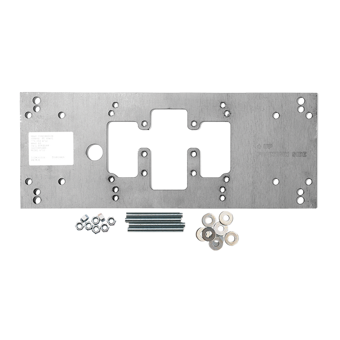 Haws 6700 universal mounting plate for most wall mounted fountains