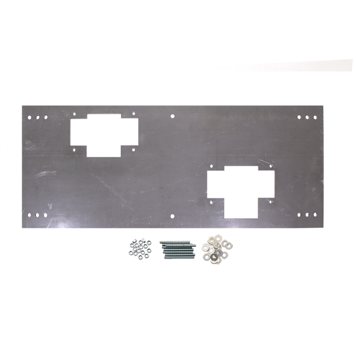 """Haws 6715, Steel In-Wall """"Hi-Lo"""" Mounting Plate for use with 1501 Series Drinking Fountains"""