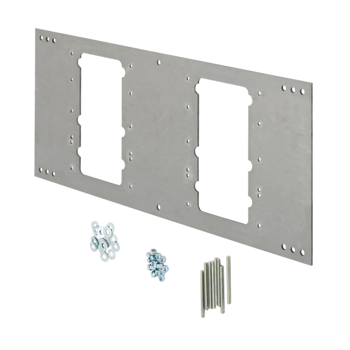Haws 6717, Steel In-Wall Mounting Plate for Model 1117L Drinking Fountain
