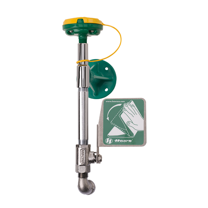 Haws 7324, Wall Mounted, Eye/Face Wash with AXION MSR Eye/Face Wash Head, Without Receptor, Emergency Equipment