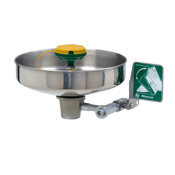 """Haws 7460, Unmounted, 11"""" Stainless Steel Bowl Eye/Face Wash with AXION MSR Eye/Face Wash Head, Emergency Equipment"""