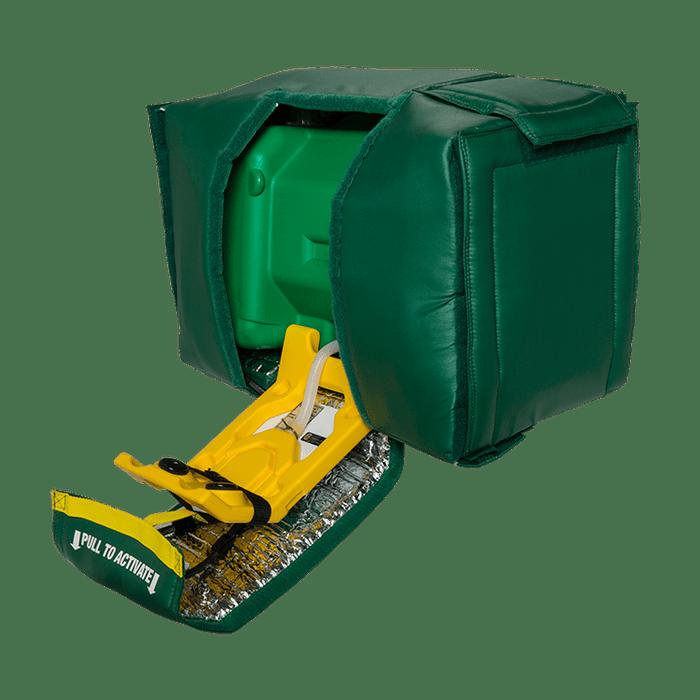 Haws 7501T, Portable Eyewash, Tempered, Gravity-Fed, 9-Gallon Capacity, Emergency Equipment