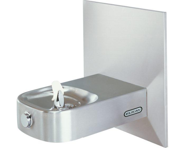 Elkay ECDFPWVR314C Child Drinking Fountain, Slimline, Soft Sides, Vandal-Resistant Bubbler, ADA, Non-Refrigerated