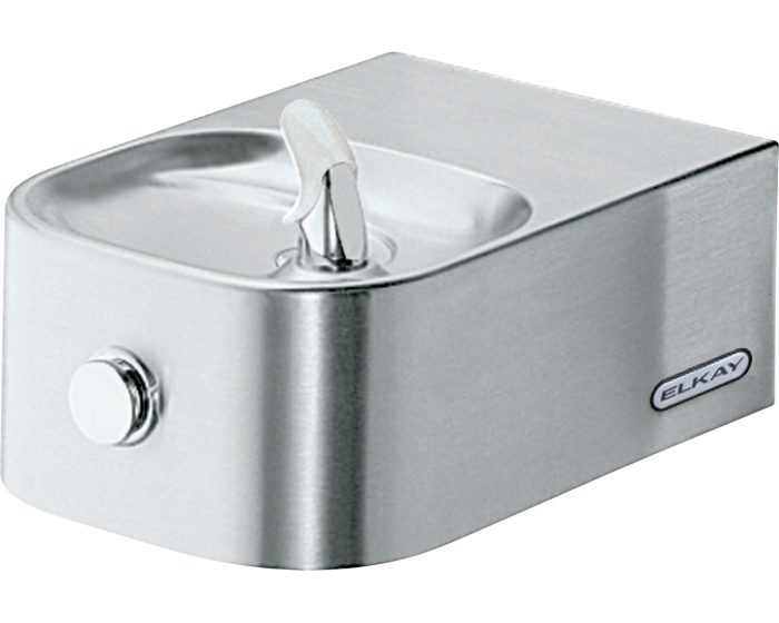 Elkay EDFP214FC Drinking Fountain, Soft Sides, Glass Filler Prepped, ADA, Non-Refrigerated