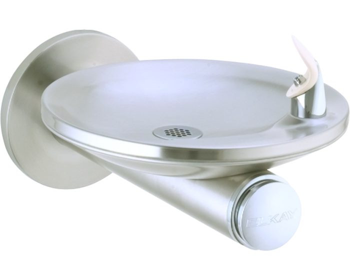 Elkay EDFPB114C SwirlFlo Single Fountain, Non-Filtered, Non-Refrigerated, Stainless Steel