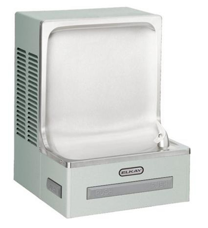 Elkay EHFSADLF Drinking Fountain, Legacy, Wall Mounted, ADA, Includes Glass Filler, Light Gray Granite, (Non-Refrigerated)