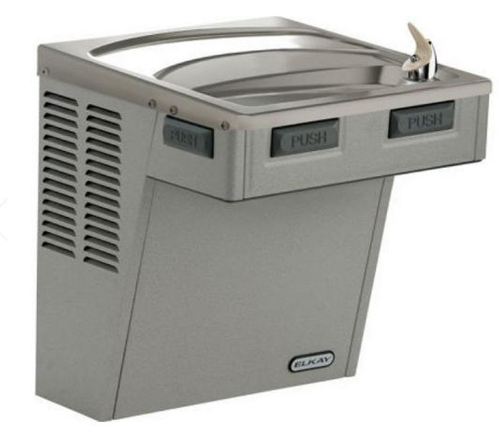 Elkay EMABFDL Drinking Fountain, Mechanically-Activated, ADA, Light Gray Granite, (Non-Refrigerated)