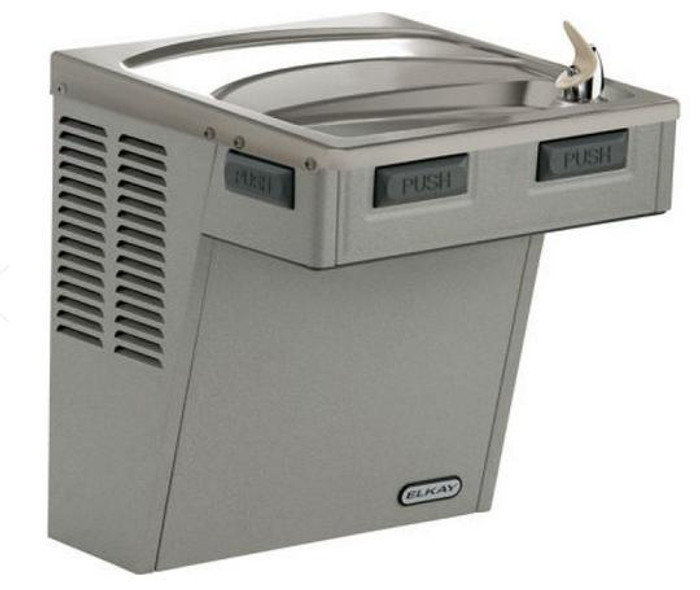Elkay EMABFDS Drinking Fountain, Mechanically-Activated, ADA, Stainless Steel, (Non-Refrigerated)