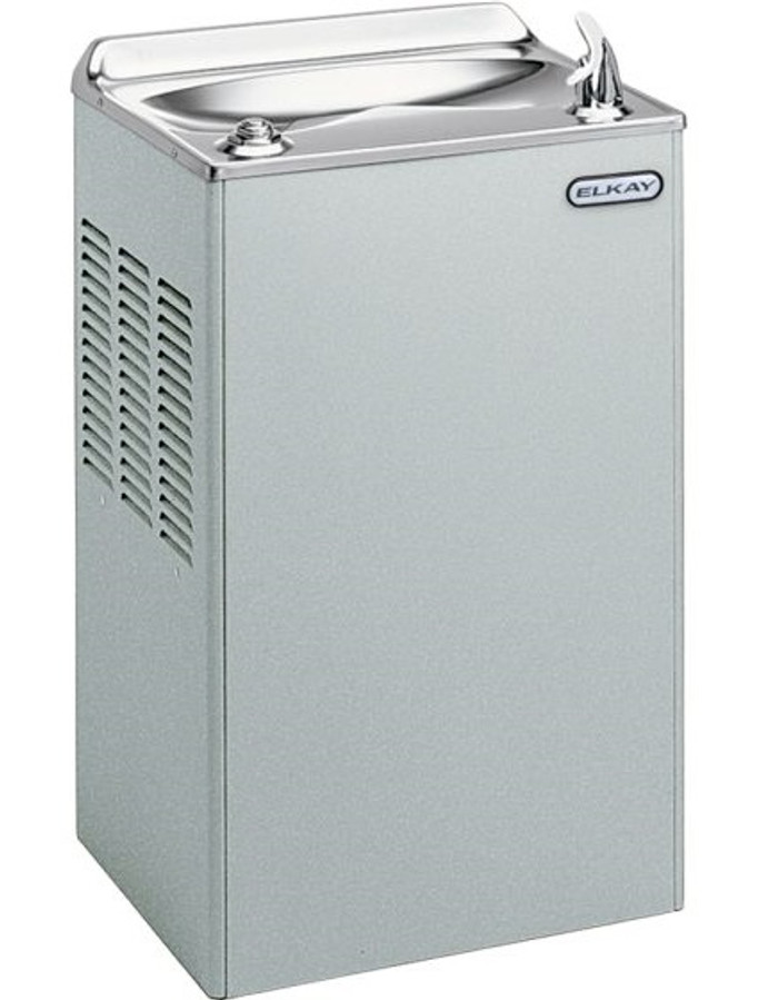 Elkay EWA14S1Z Refrigerated Drinking Fountain, 14.0 GPH Water Cooler, Stainless Steel