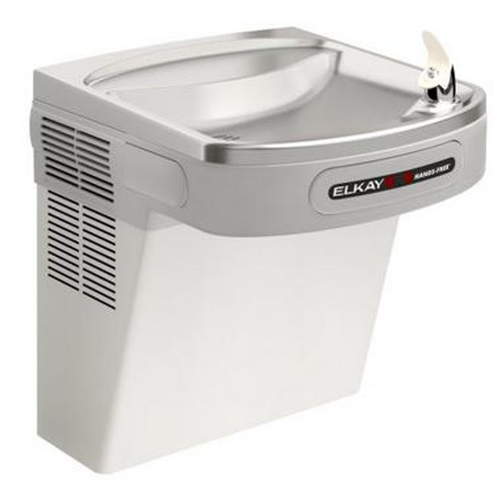 Elkay EZO8S Refrigerated Drinking Fountain, Sensor-Operated, 8.0 GPH, ADA, Stainless Steel