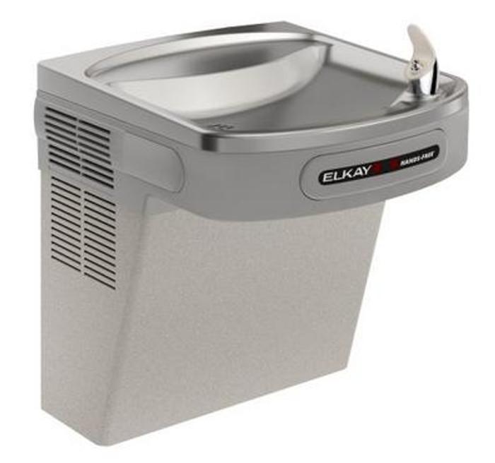Elkay EZODL Drinking Fountain, Sensor-Operated, ADA, Light Gray Granite, (Non-Refrigerated)