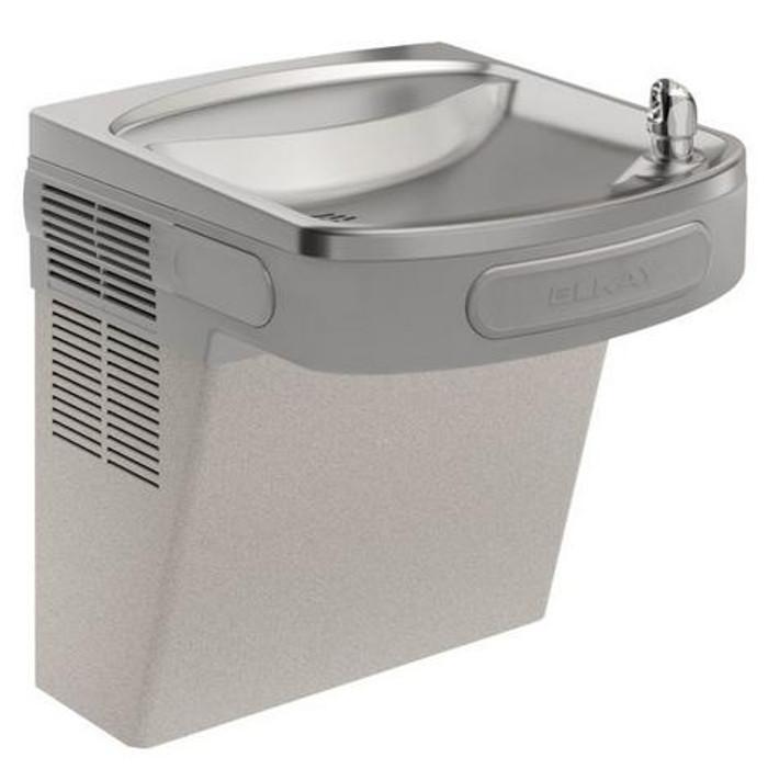 Elkay EZSVR8L Refrigerated Drinking Fountain, 8.0 GPH Water Cooler, Vandal-Resistant Bubbler, ADA, Non-Filtered, Light Gray Granite