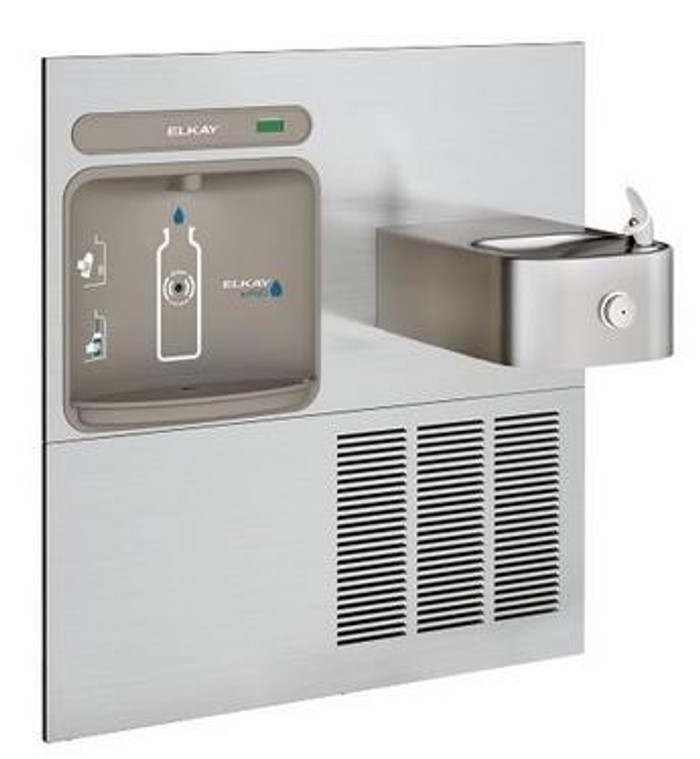 Elkay EZWS-ERFP8-RF EZH2O Bottle Filling Station, Retro-fit Model for Soft Sides Refrigerated Drinking Fountain, 8.0 GPH Water Cooler, GreenSpec Listed