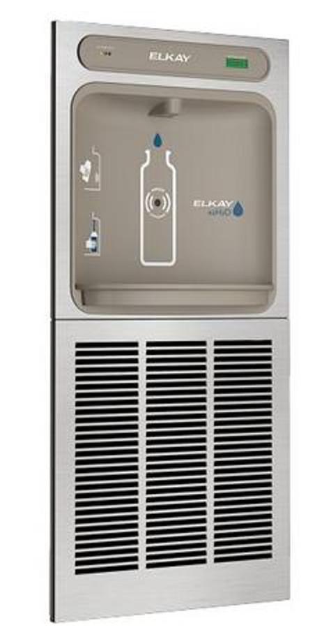 Elkay EZWSM8K EZH2O Bottle Filling Station, 8.0 GPH, ADA, GreenSpec Listed, Refrigerated, Includes Mounting Frame