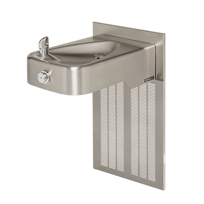 Haws H1107.8, Barrier-Free, Low-Profile, Stainless Steel, Electric Water Cooler, Drinking Fountain, 8 GPH