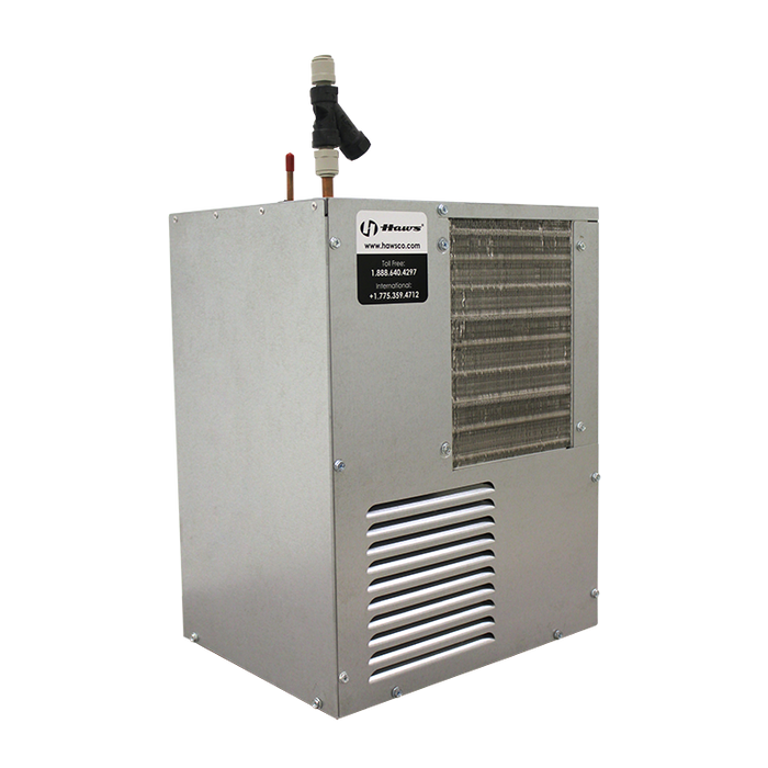 Haws HCR8, 8 gph (30.3 L) remote water chiller provides instantaneous cooling to meet a continuous demand for chilled water