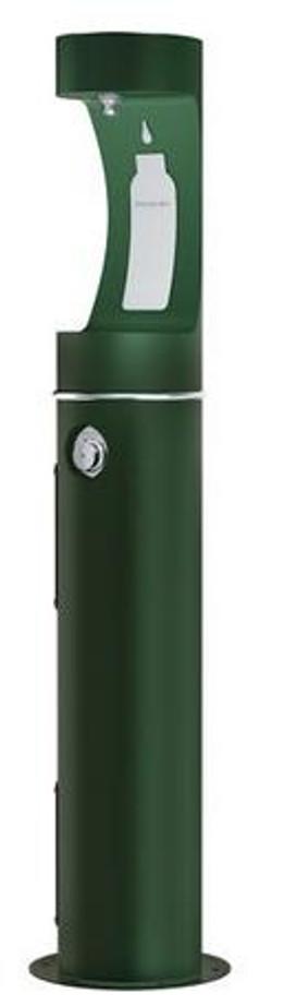 Elkay LK4400BFFRK EZH2O Outdoor Bottle Filling Station, Freeze-Resistant, Pedestal, Non-Refrigerated