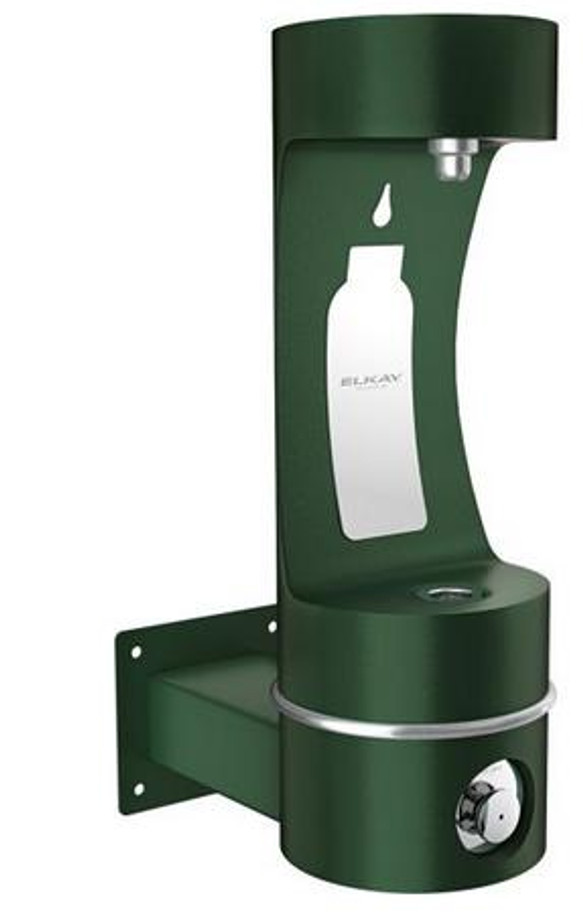 Elkay LK4405BF EZH2O Outdoor Bottle Filling Station, Wall Mounted, ADA, Non-Refrigerated