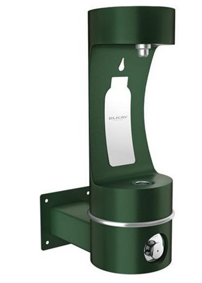 Elkay LK4405BFFRK EZH2O Outdoor Bottle Filling Station, Freeze-Resistant, Wall Mounted, Non-Refrigerated