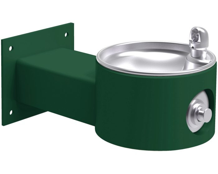 Elkay LK4405FRK Outdoor Drinking Fountain, Freeze-Resistant, Wall Mounted, ADA, Non-Refrigerated