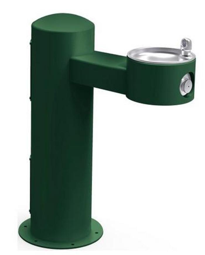 Elkay LK4410 Outdoor Drinking Fountain, Pedestal, ADA, Non-Refrigerated