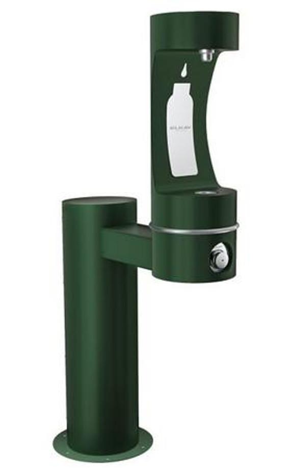 Elkay LK4410BF EZH2O Outdoor Bottle Filling Station, Pedestal, Barrier-Free, Non-Refrigerated
