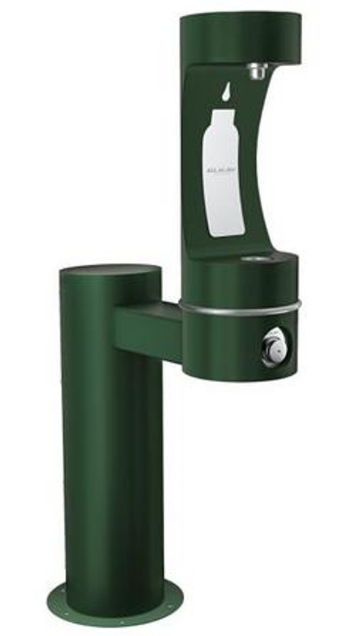 Elkay LK4410BFFRK EZH2O Outdoor Bottle Filling Station, Freeze-Resistant, Pedestal, Barrier-Free, Non-Refrigerated
