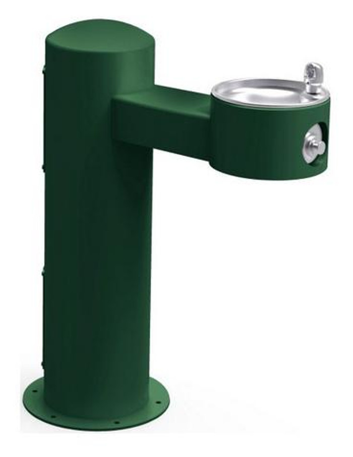 Elkay LK4410FRK Pedestal Outdoor Drinking Fountain, Freeze-Resistant, ADA Compliant, Non-Refrigerated