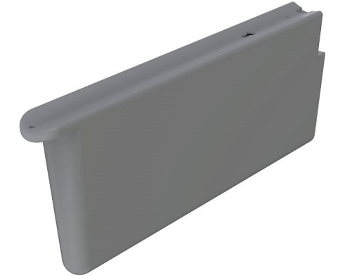 Elkay LKAPR1 Cane Apron, Gray ABS Plastic for SwirlFlo Models