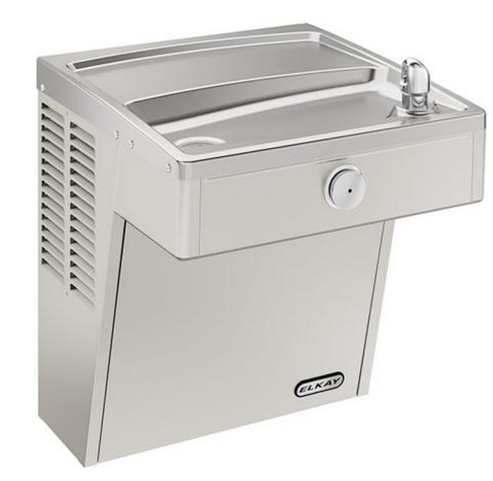 Elkay LVRC8S Refrigerated Drinking Fountain, Vandal-Resistant, Filtered, ADA, 8.0 GPH Water Cooler