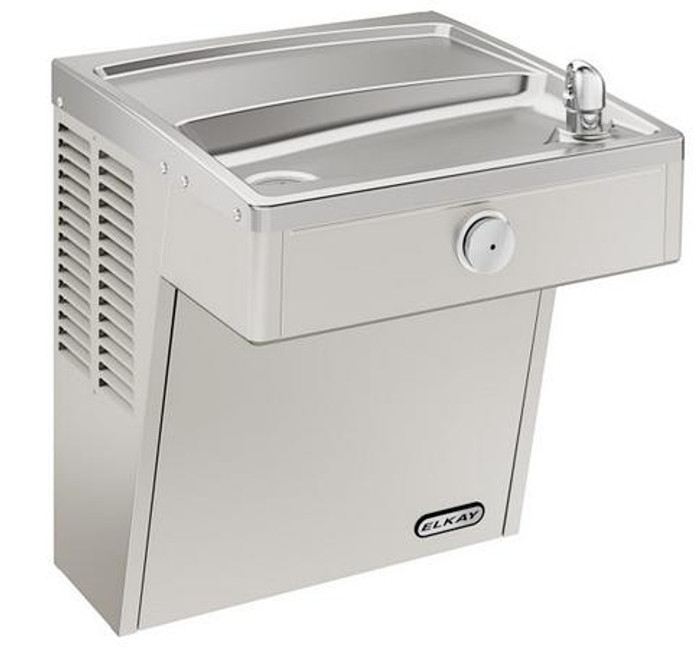 Elkay LVRCDS Drinking Fountain, Vandal-Resistant, Filtered, ADA, Wall Mounted, (Non-Refrigerated)