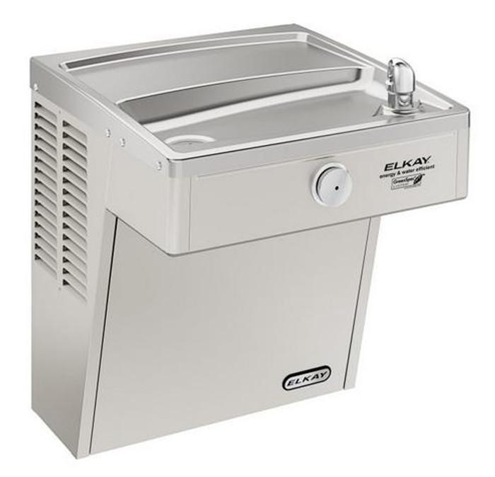 Elkay LVRCGRN8 Refrigerated Drinking Fountain, Vandal-Resistant, Filtered, High Efficiency, GreenSpec Listed, ADA, 8.0 GPH Water Cooler