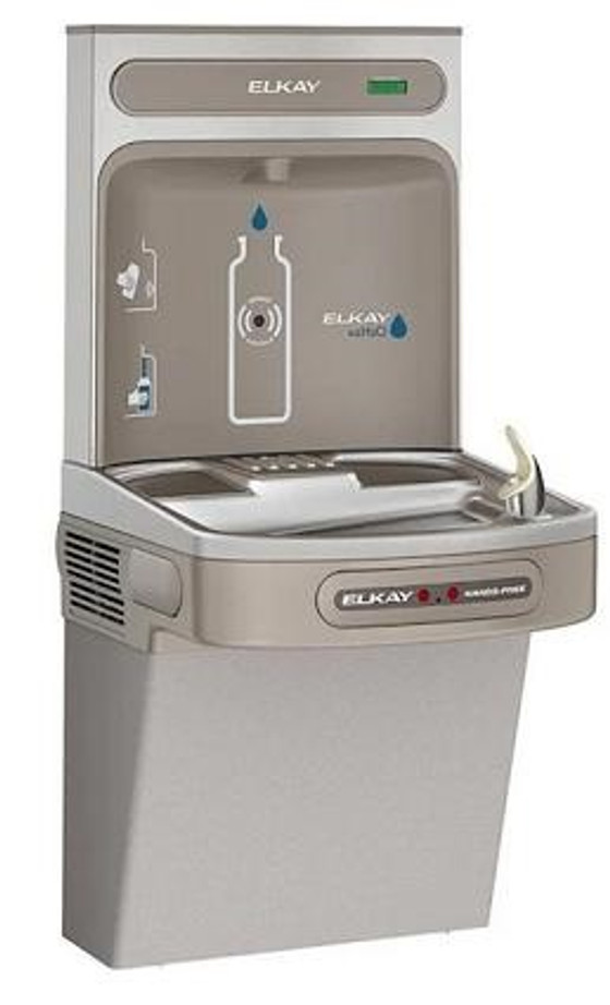 Elkay LZO8WSSK EZH2O Bottle Filling Station with Single ADA Cooler, Hands Free Activation, Filtered, Refrigerated, Stainless