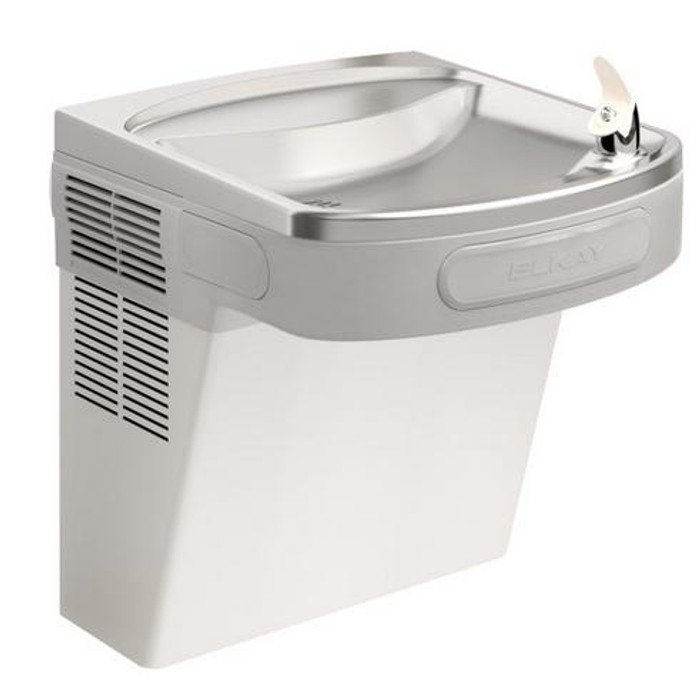 Elkay LZS8SF Refrigerated Drinking Fountain, Filtered, 8.0 GPH Water Cooler, ADA, Glass Filler Prepped, Stainless Steel