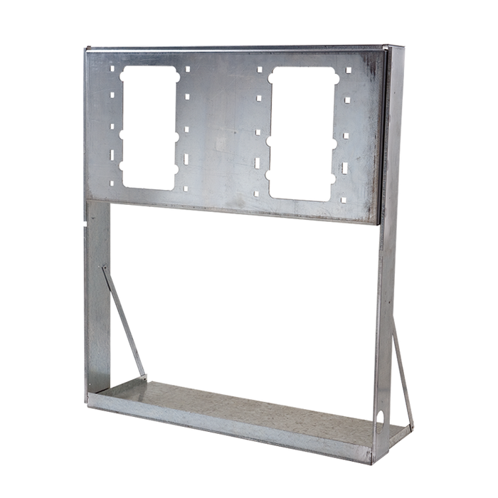 Haws MTGFR.17, In-Wall Mounting Frame, Heavy Gauge Galvanized Steel for use with Model H1117.8 Electric Drinking Fountain