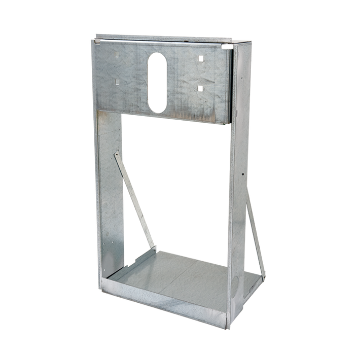 Haws MTGFR.7, In-Wall Mounting Frame, Heavy Gauge Galvanized Steel for use with Model H1107.8 Electric Drinking Fountain