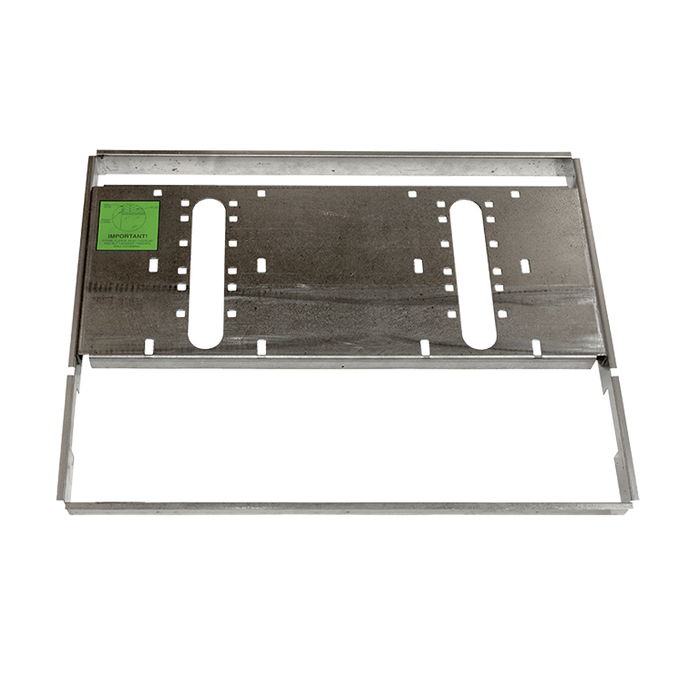 """Haws MTGFR.DF2, In-Wall """"Hi-Lo"""" Mounting Frame Heavy Gauge Galvanized Steel for use with 1011 Series Drinking Fountains"""