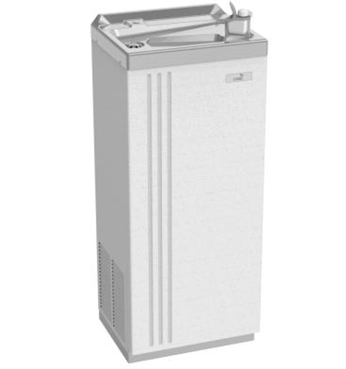 Oasis PLF20FACP Free Standing 20 GPH Corrosion Free Water Cooler (Refrigerated Drinking Fountain)
