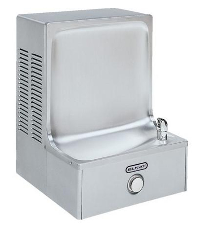 Elkay OHFAVR8S1Z Refrigerated Drinking Fountain, Legacy 8.0 GPH Water Cooler, Vandal-Resistant, ADA, Stainless Steel