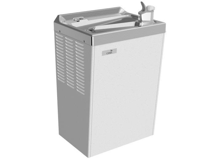 Oasis P8M Wall Mounted 8 GPH Water Cooler (Refrigerated Drinking Fountain)