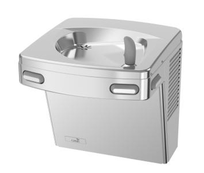 Oasis PGAC STN Energy Efficient Barrier Free Drinking Fountain, Non-Filtered, Non-Refrigerated, Stainless Steel